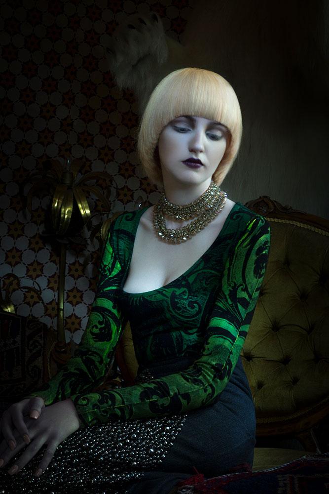 Quaintrelle Haringtons Light Painting Hair Editorial Photography © Tigz Rice Studios 2016. http://www.tigzrice.com