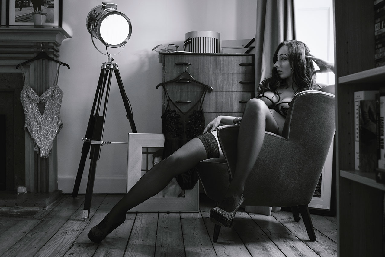 Hettie Heartache Boudoir Shoot © Tigz Rice Studios 2016. http://www.tigzrice.com