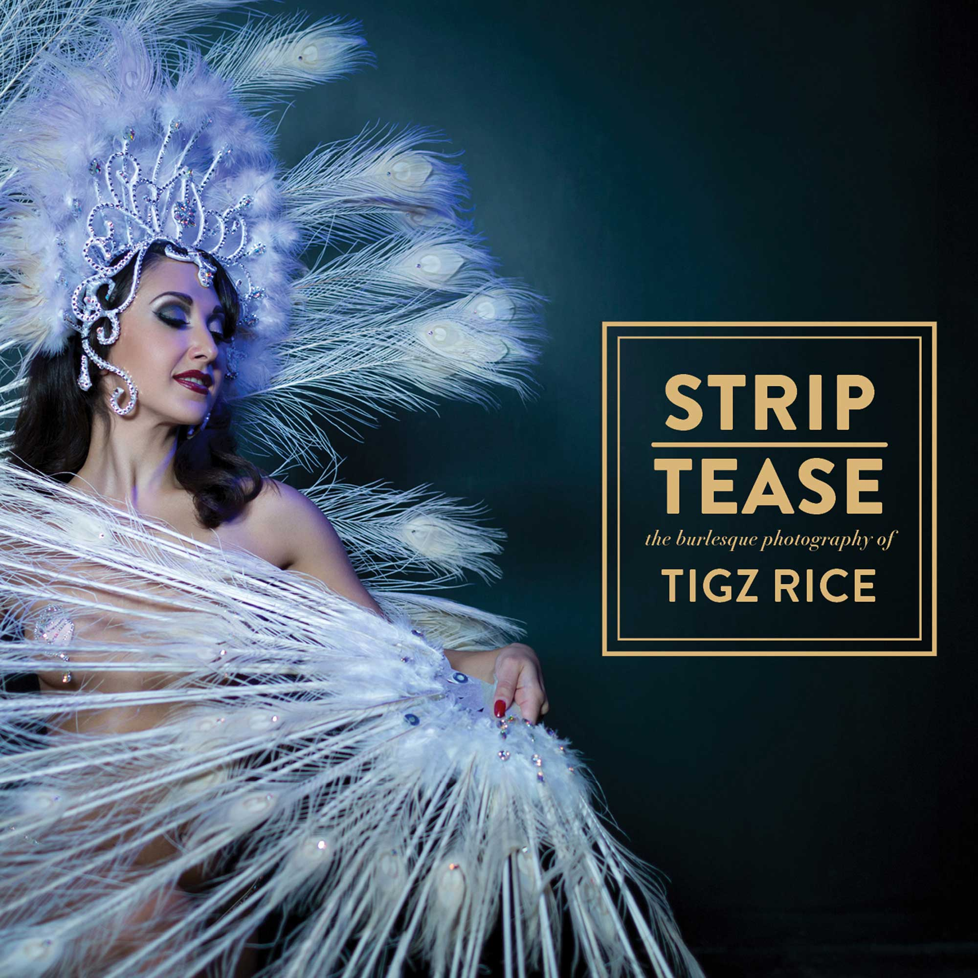 STRIP|TEASE review - an award winning coffee table burlesque book by Tigz Rice