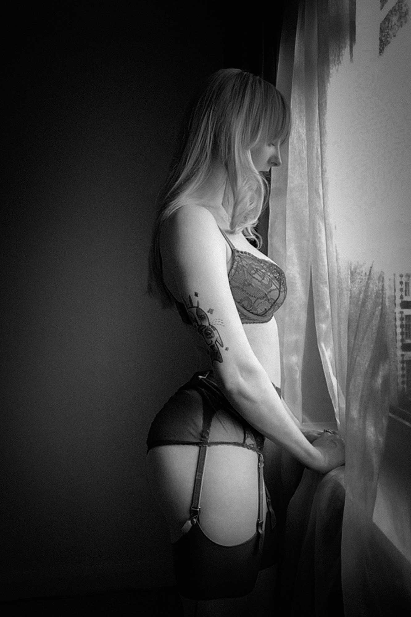 Akasha Wilde's Virtual Boudoir Shoot © Tigz Rice Ltd