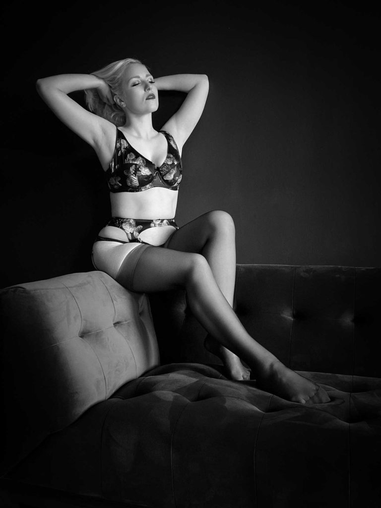 Charlotte's Virtual Boudoir Shoot with Tigz Rice
