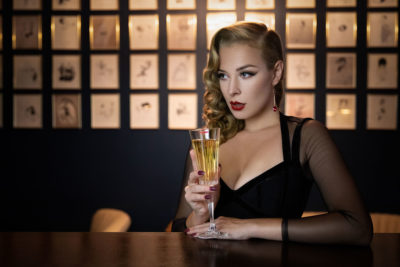 Setting New Year's Intentions: Blossom&Buttercups at Fontaine's Bar, London - UK Boudoir Photography