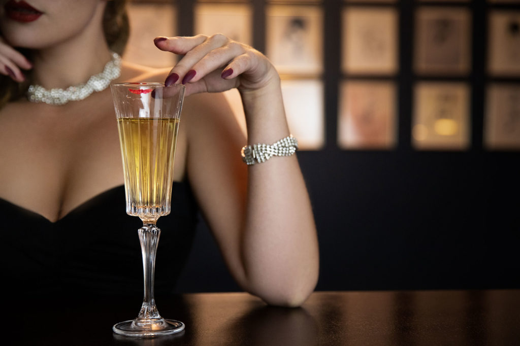 Brand Photography Shoot with Blossom&Buttercups for Fontaine's Art Deco Bar in London