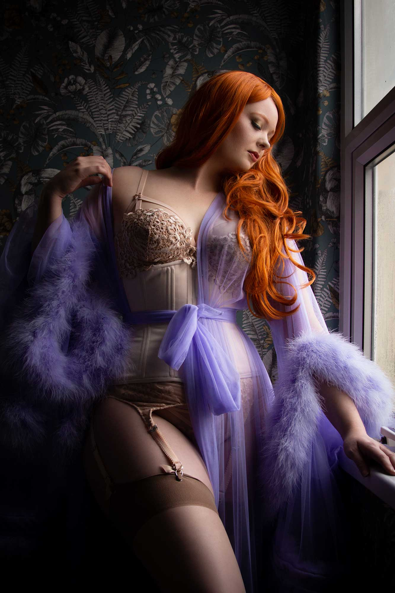 Dominatrix & Online Content Creator The Siren talks about her virtual boudoir shoot with Tigz Rice