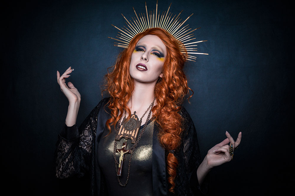 Dark Saint: Styled Shoot with Anna Swiczeniuk