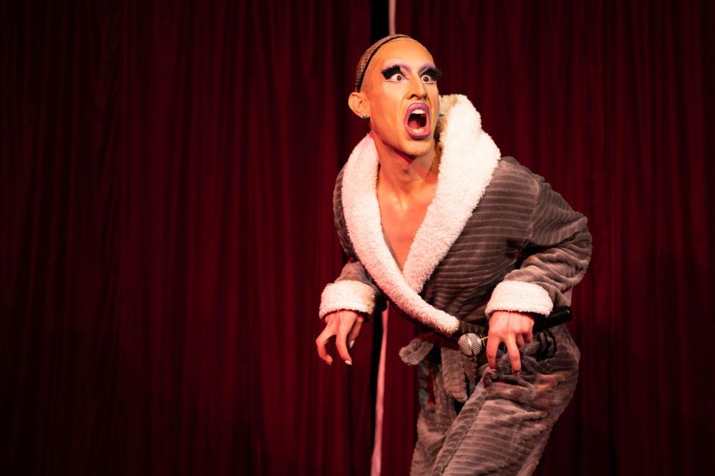 Cabaret Roulette - Crayola the Queen © Tigz Rice Ltd 2020. https://www.tigzrice.com