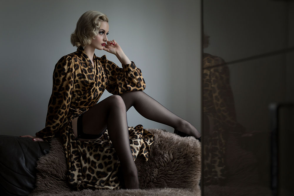 10 ways to do leopard print in lingerie this season