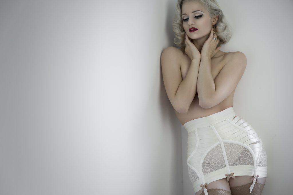 Boudoir Inspired Christmas Gifts - luxury lingerie from Bordelle
