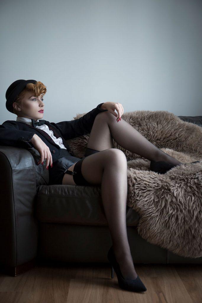 non-lingerie boudoir outfits - Felicity Furore © Tigz Rice 2017. https://www.tigzrice.com