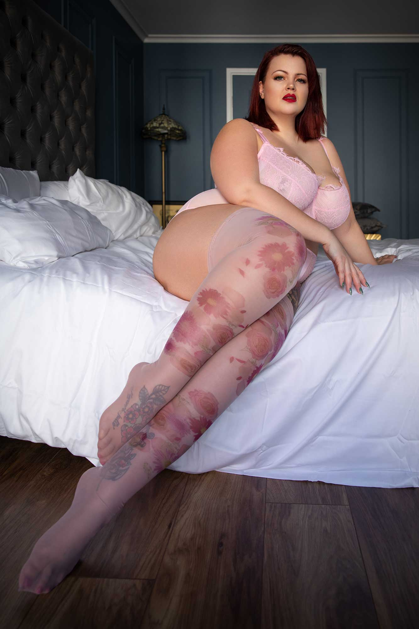 Nylon Stockings - Fuller Figure Fuller Bust - Uye Surana