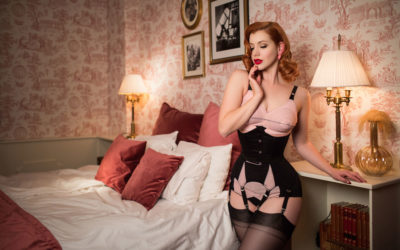 A Boudoir Shoot With Miss Victory Violet