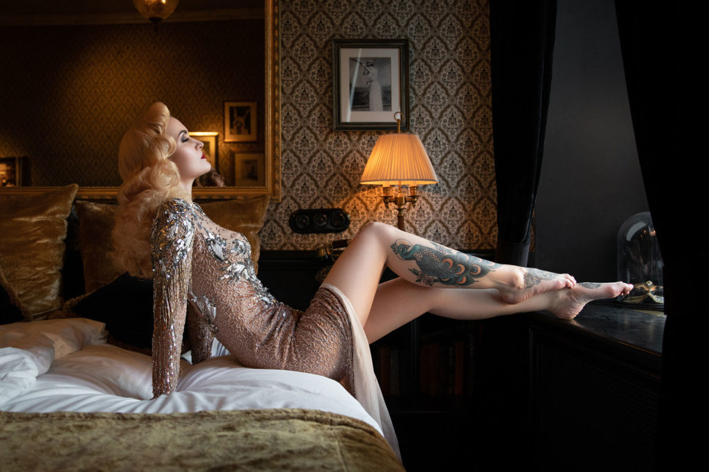 Marion Massacre - Dress for a Boudoir Shoot