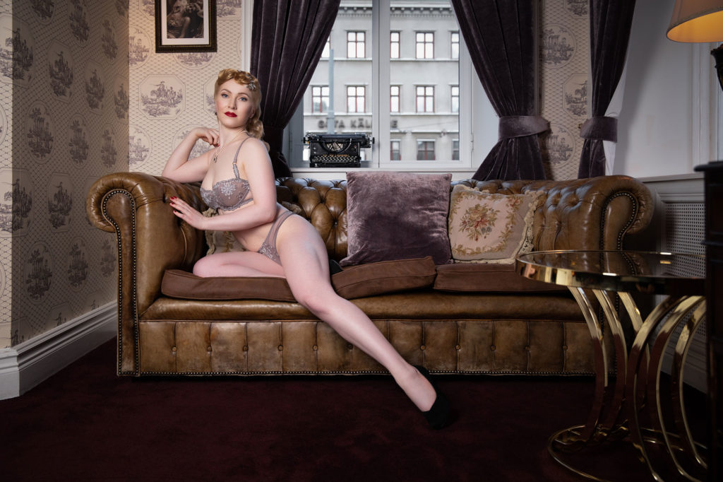 Pixie Magique with hair and Make Up by Miss Victory Violet at Hotel Pigalle Gothenburg