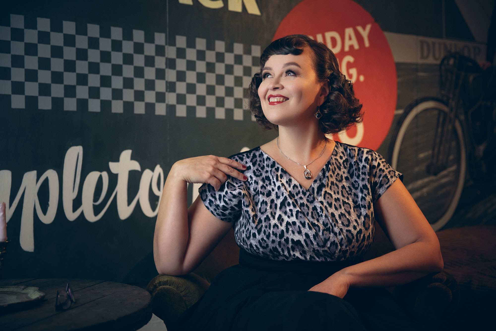 Vintage Pinup Makeover Shoots: Tigz Rice x Miss Victory Violet Makeover Day Helsinki © Tigz Rice Ltd 2018. https://www.tigzrice.com