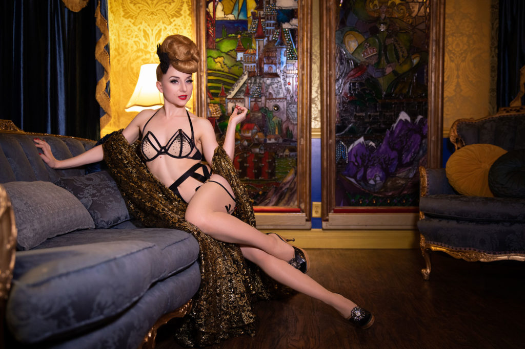 photographic collaboration Miss Exotic World INGA for STRIP|TEASE - The Burlesque Photography of Tigz Rice