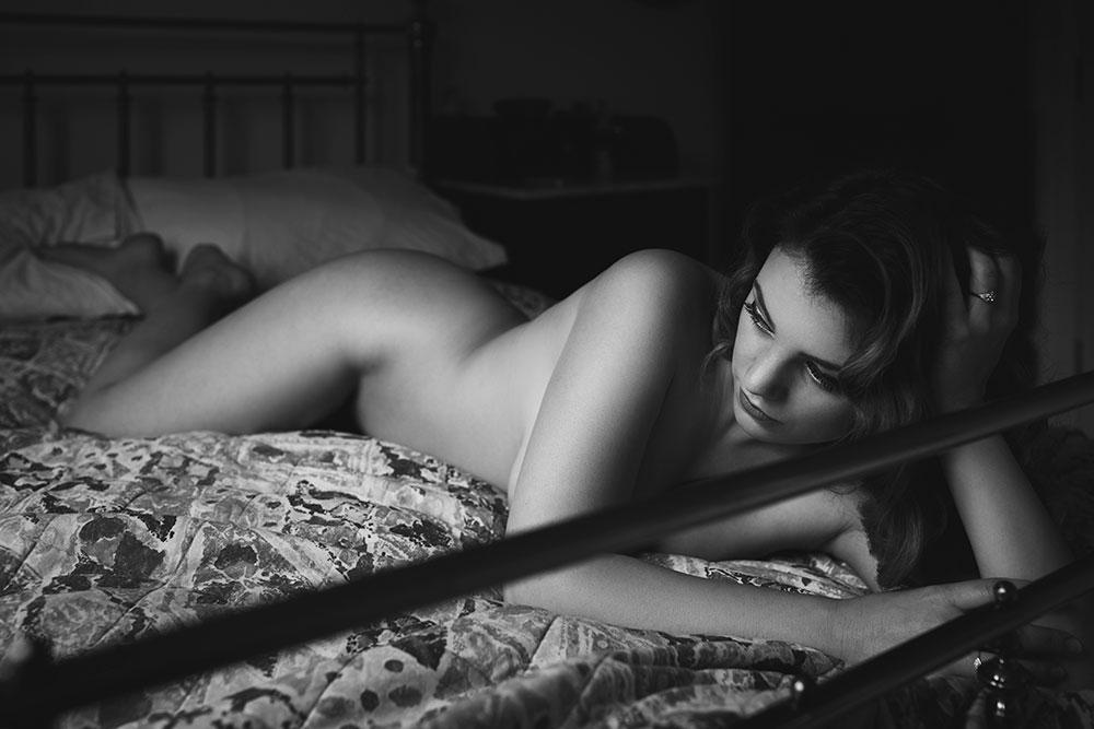 non-lingerie boudoir outfits - Joanna Woodward boudoir art nude series 'voyeur' © Tigz Rice Studios 2016. https://www.tigzrice.com