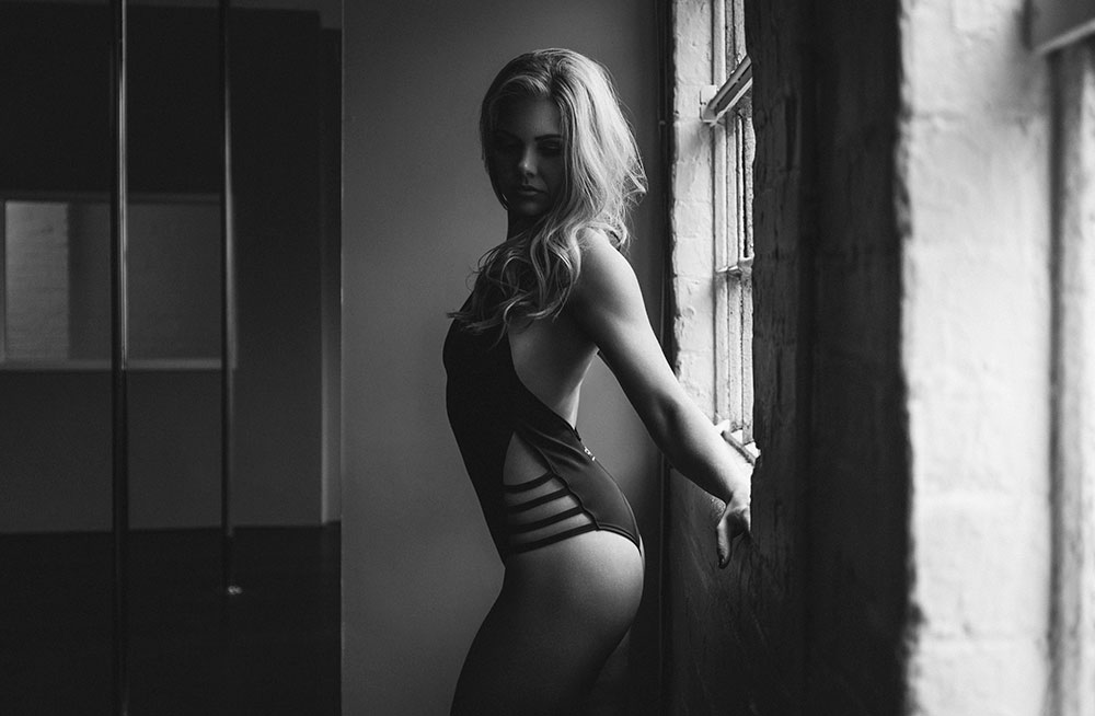 Boudoir Inspired Fashion Shoot Justine McLucas École De Pole, London