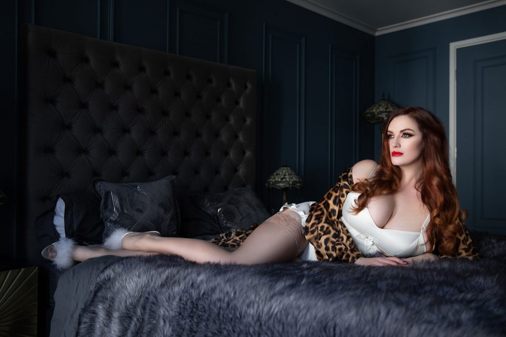 Lady Ginger Lust © Tigz Rice 2018. https://www.tigzrice.com