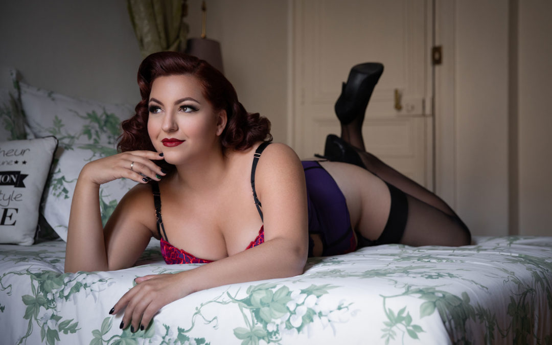 An Interview With: Paris Boudoir Client Enza Beltempo