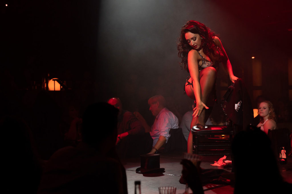 Incredible Regular London Burlesque Shows - Jolie Papillon performs at Proud Embankment, London