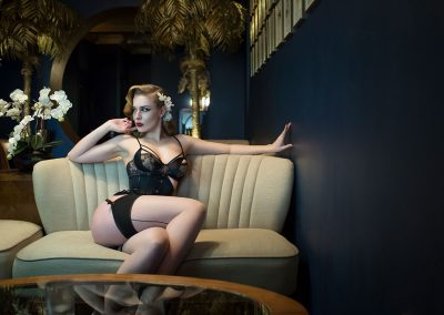 Vintage boudoir shoot London and Hertfordshire