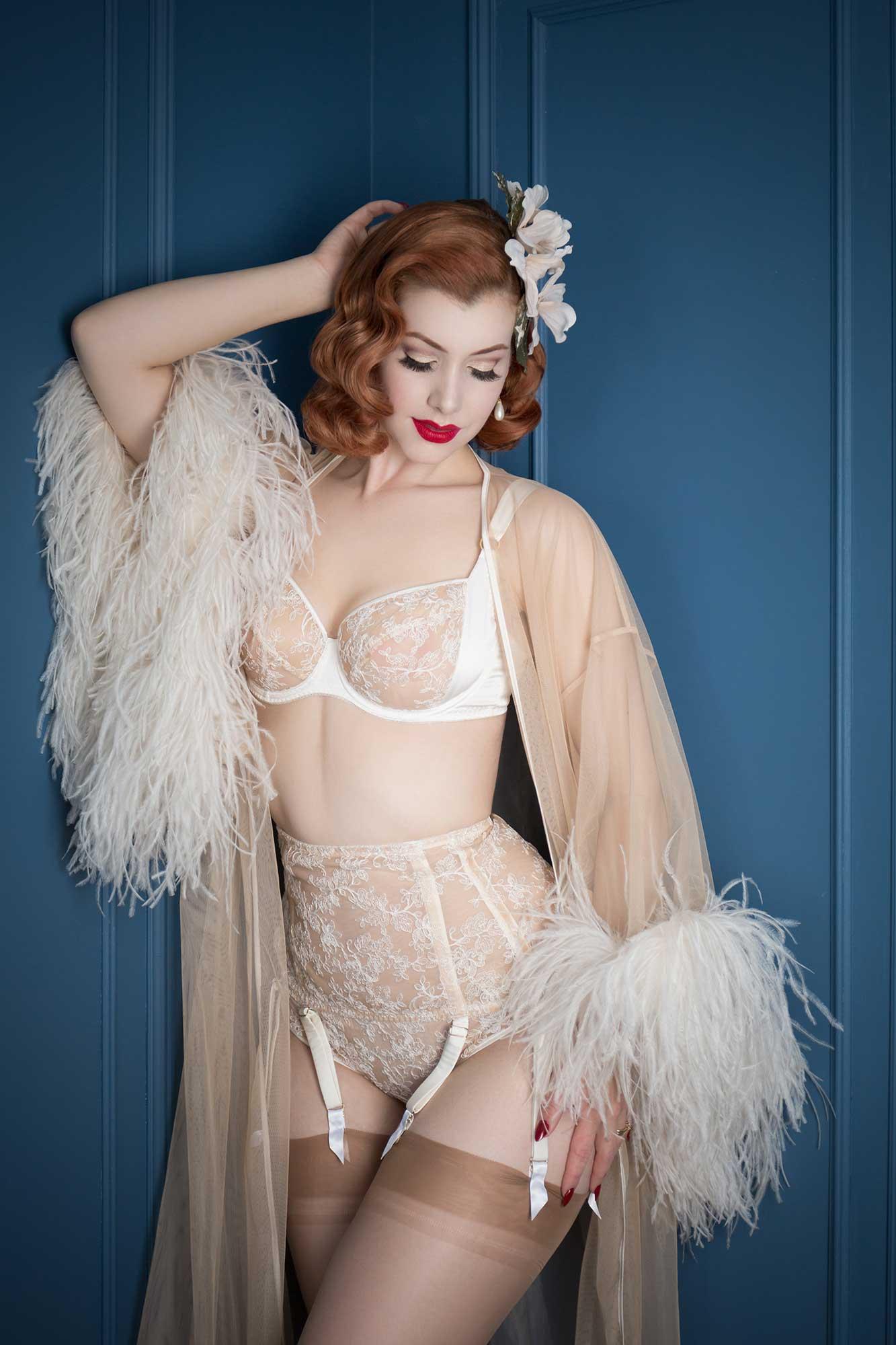 boudoir makeover photo shoot with Tigz Rice