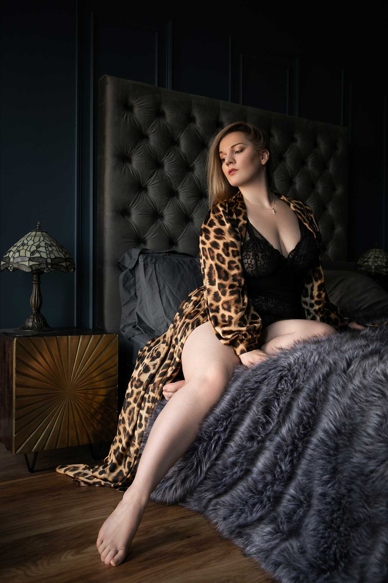 Highlights of 2020 - Tigz Rice wears Tutti Rouge Lingerie in the Art Deco Boudoir