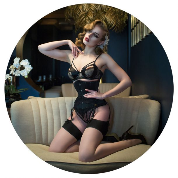 sam elson editorial lingerie photography london