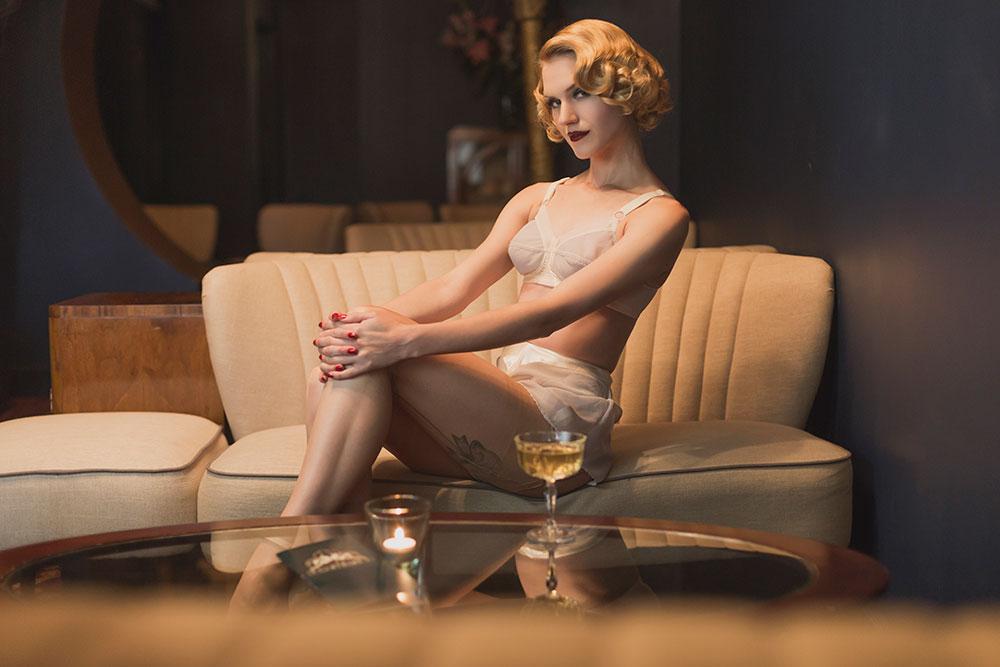 ef7af327f5df0 What Katie Did S/S 2015 Lingerie Collection Slinky Sparkles Vivien lingerie