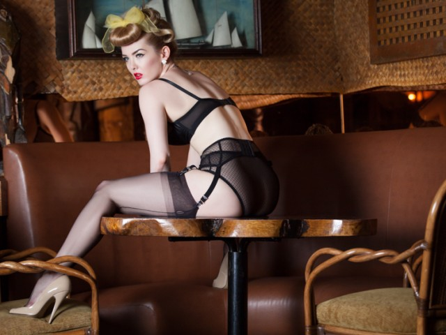 Editorial Lingerie: Miss Miranda