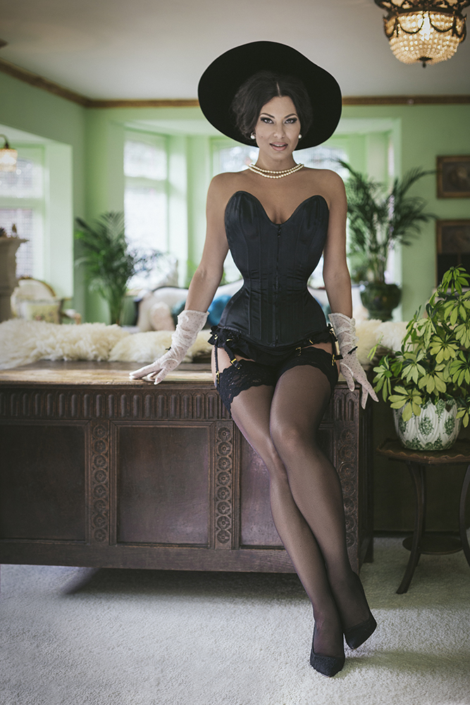 Nylon Stockings - Immodesty Blaize - Wolford
