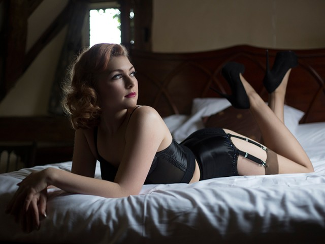 The Art Of Boudoir: Felicity, Natural Light
